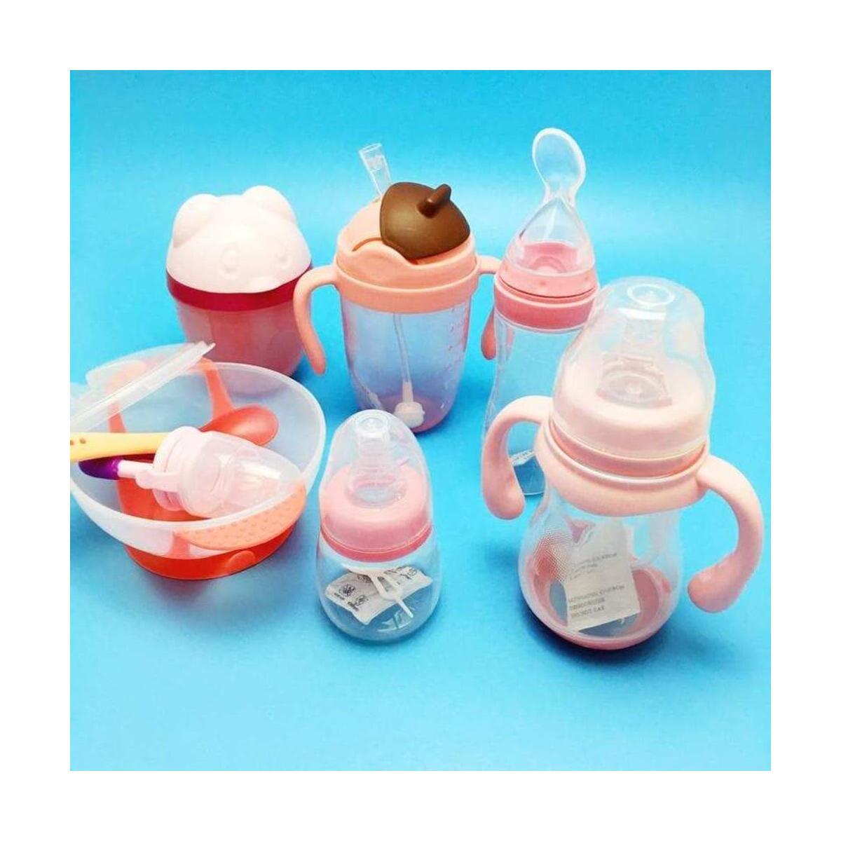 Baby Toddler Suction Silicone Feeding Set