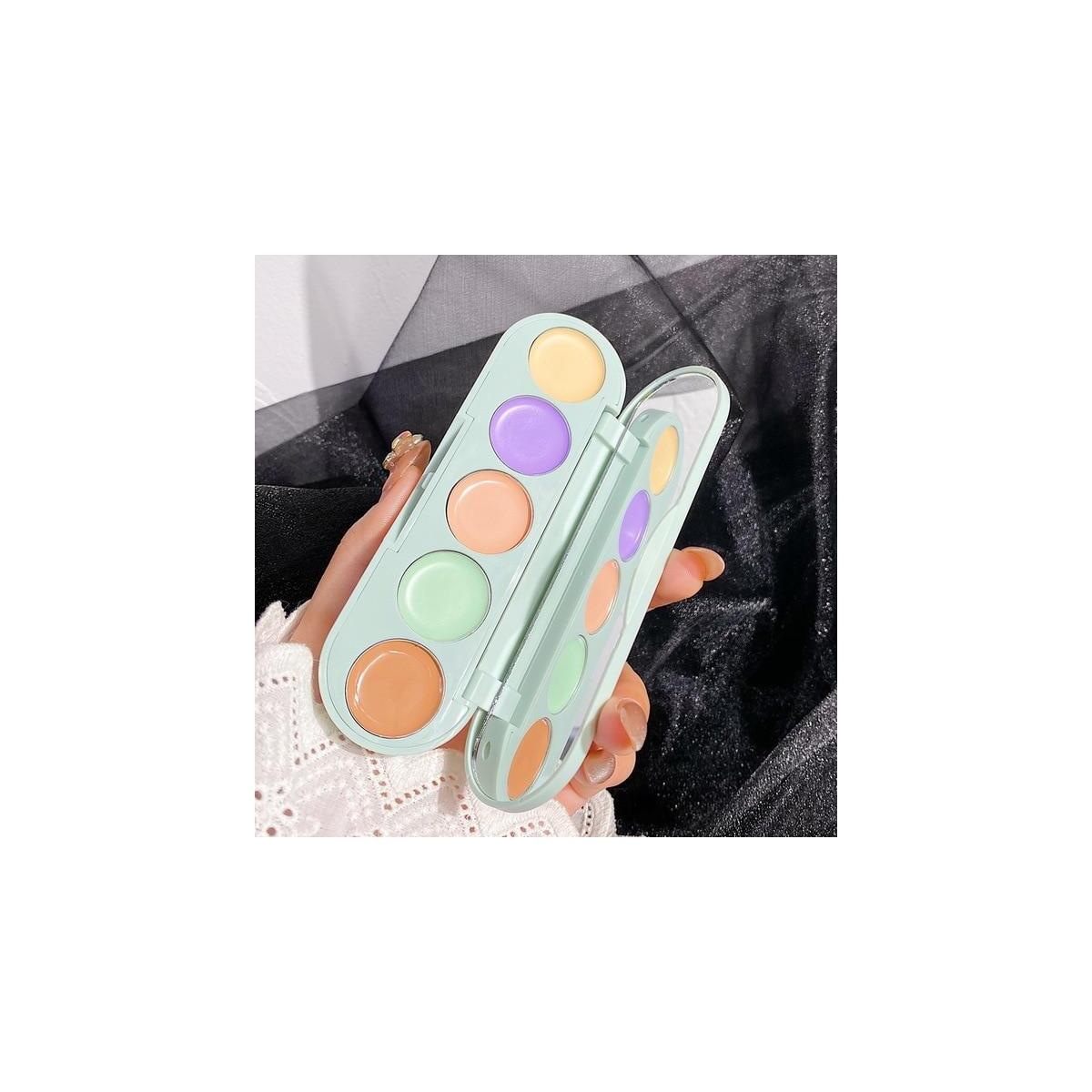Face Concealer Contour Palette Full Cover Cream