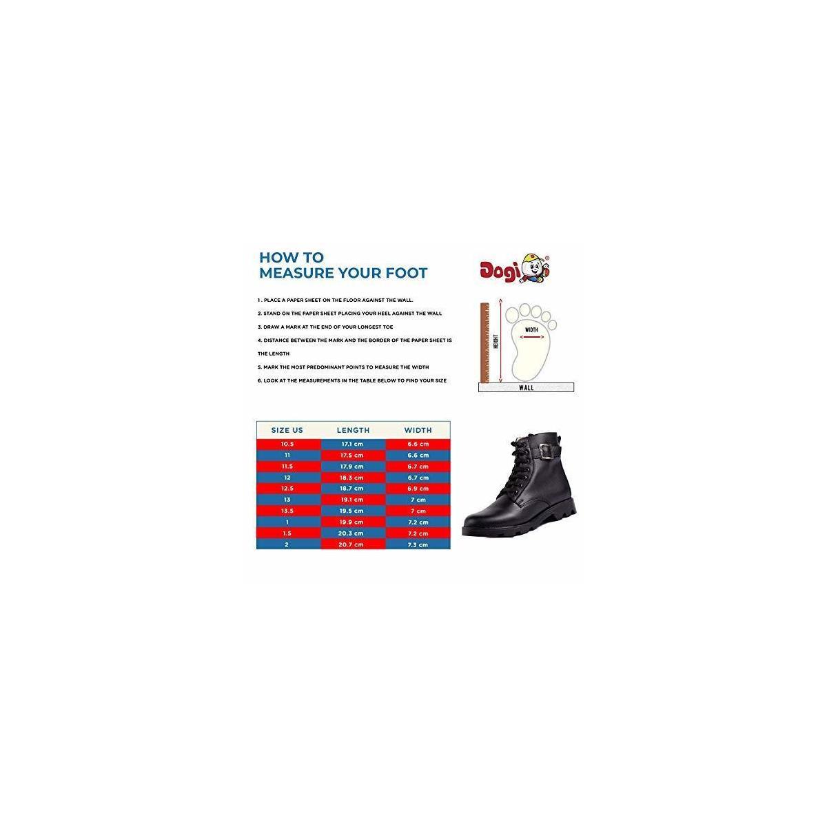 DOGI Girls Lace-Up Outdoor Boots - Premium Leather Combat Hiking Boot Rounded Plain Toe - Greta
