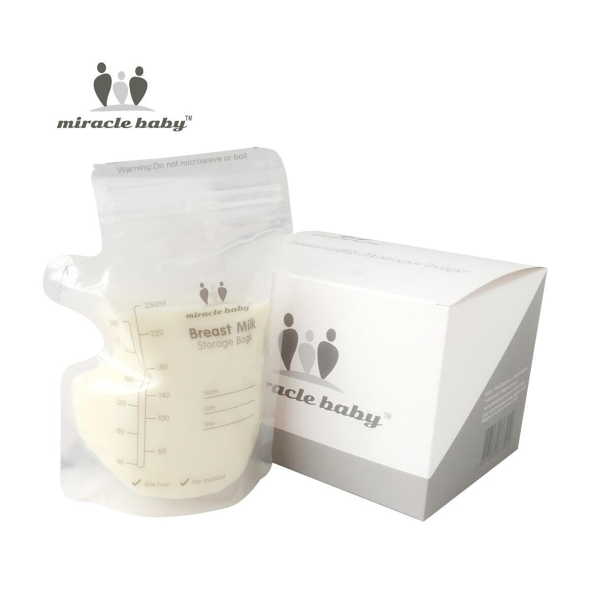 Baby Safe Mother Milk Freezer  Breast Milk Storage Bags 250ml Feeding Supplies Food Storage Breast Milk Bags