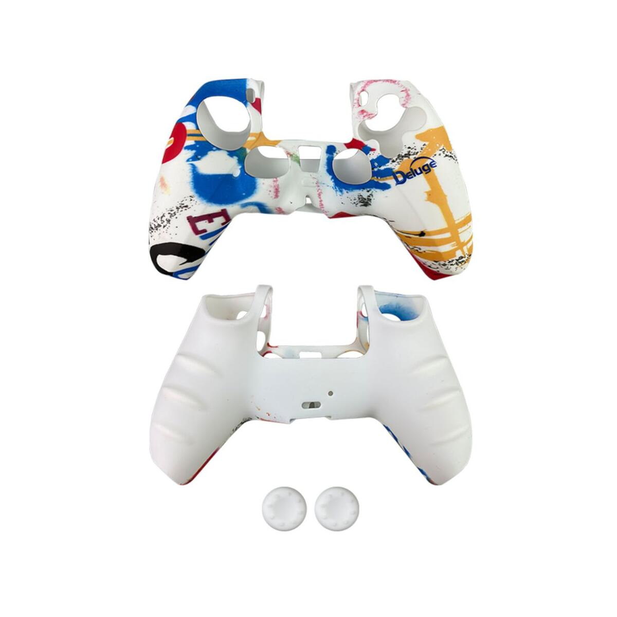 Silicone Gel Controller Cover Skin Protector for Playstation PS5, Protection Case Soft Gel Skin Cover for PS5 Controller Gamepad
