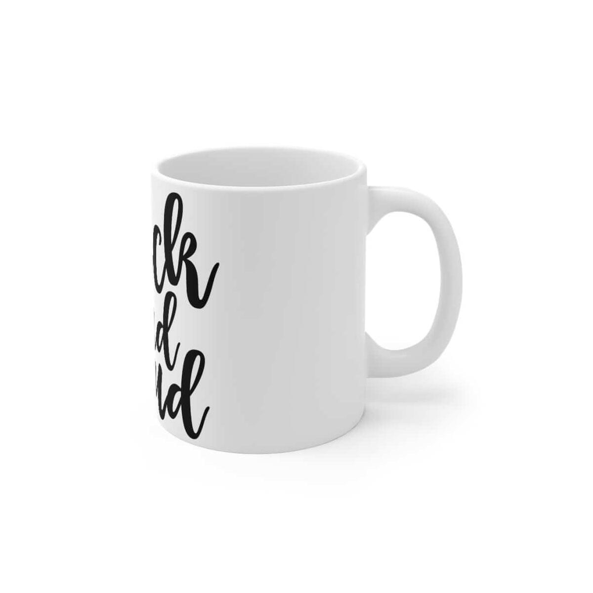 Afrocentric BLACK AND PROUD Mug 11oz