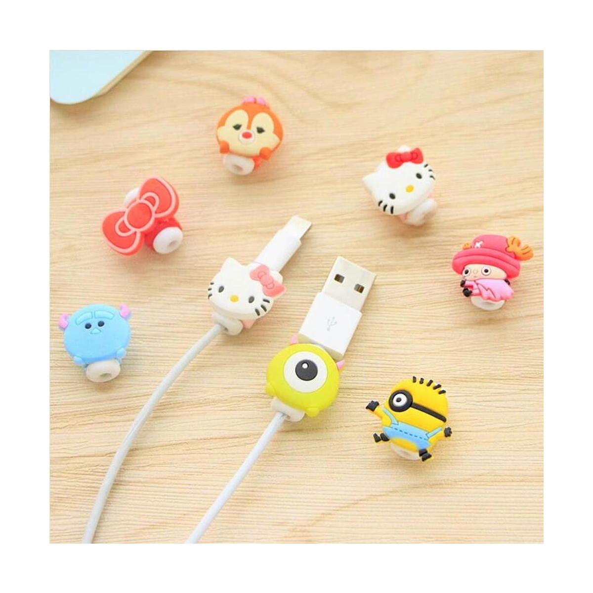 Charging Cable Protector Cute Cord Protection Cover Organizer Wire