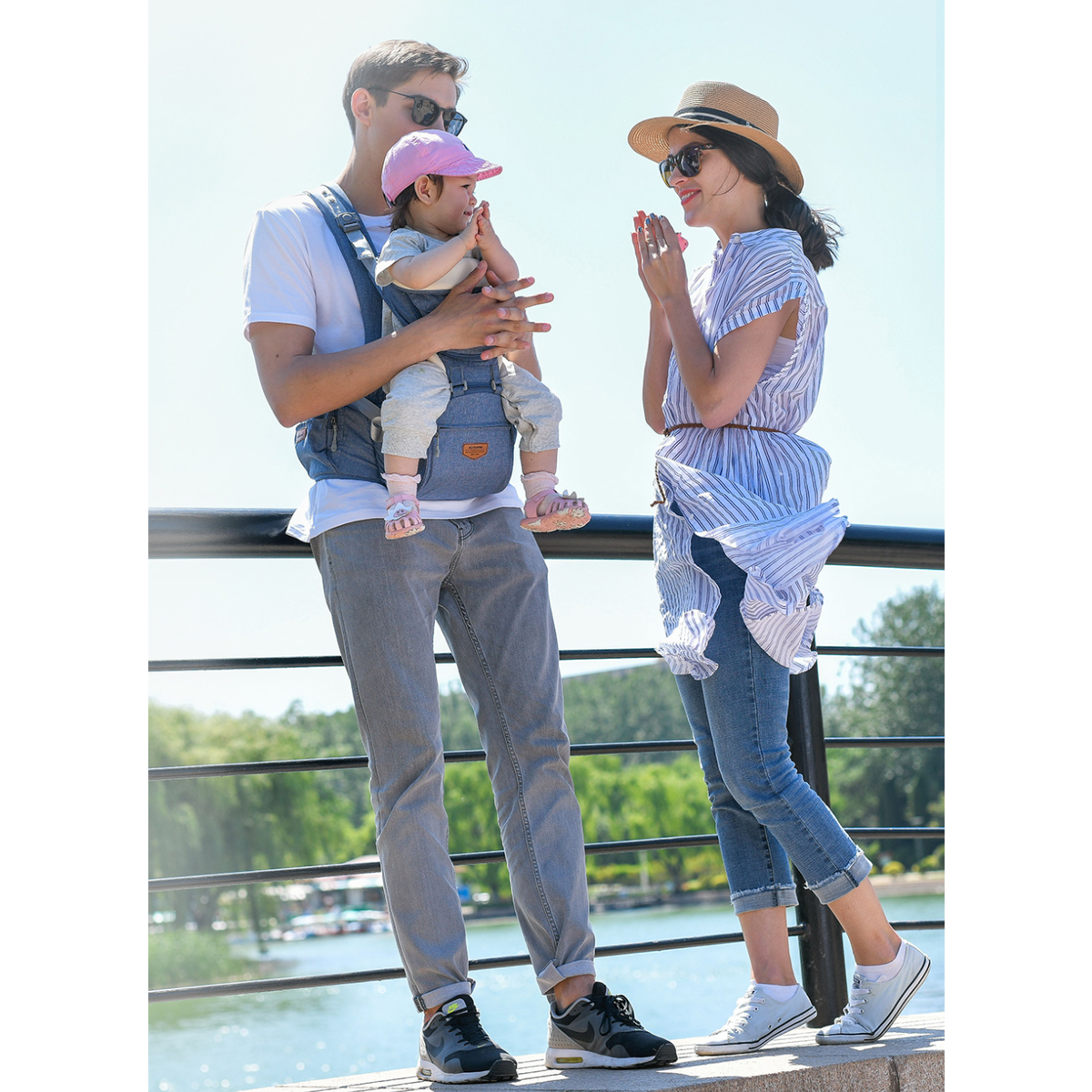 Ergonomic Baby Carrier/Infant - Baby Hipseat - (0 ~ 36M)
