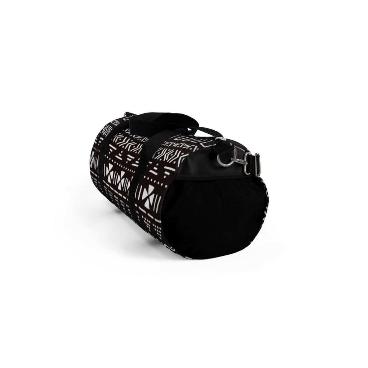 Tribal African Mud cloth Duffel Bag, Small