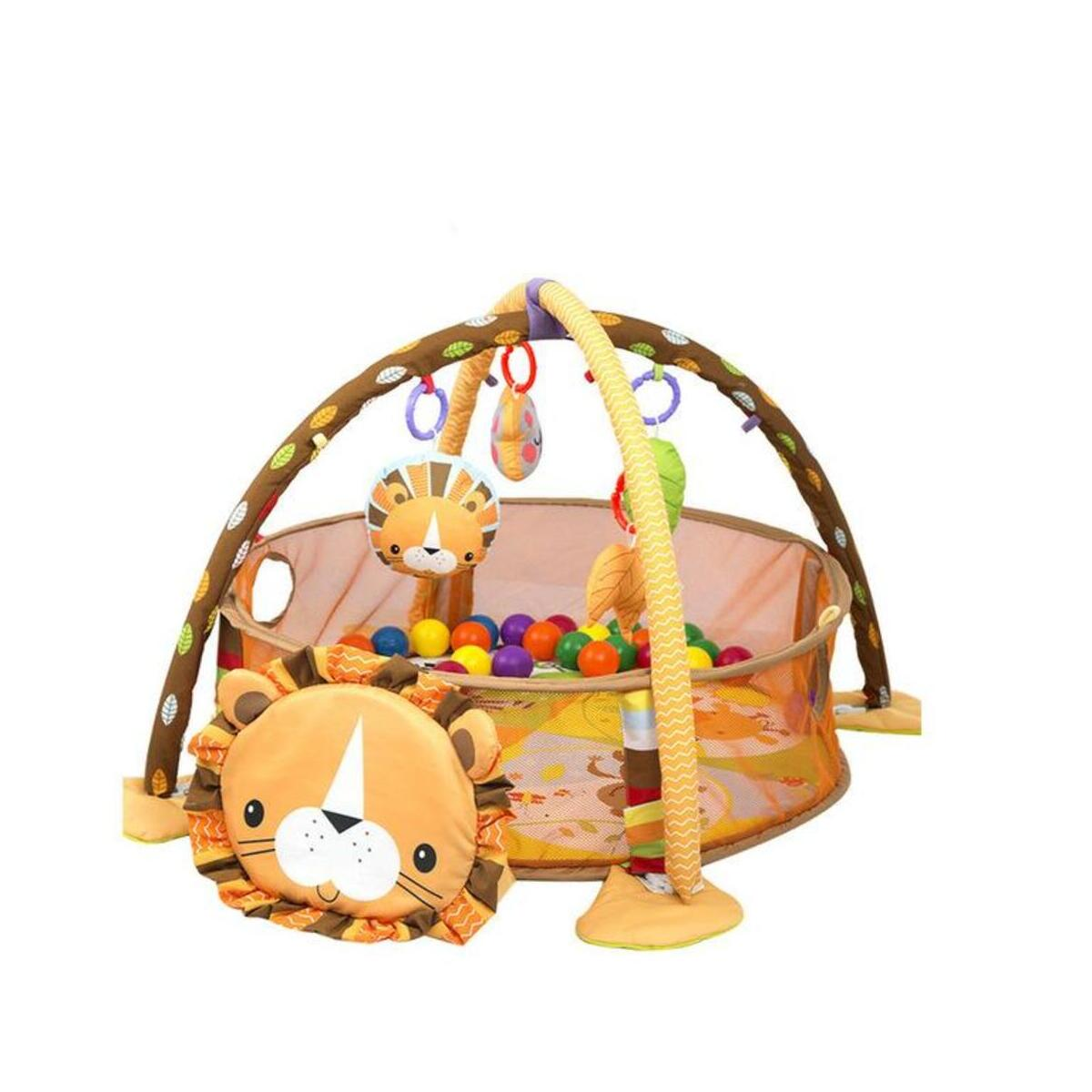 Baby 3 IN 1 Multifunctional  Baby Activity Gym & Ball Pit Turtle