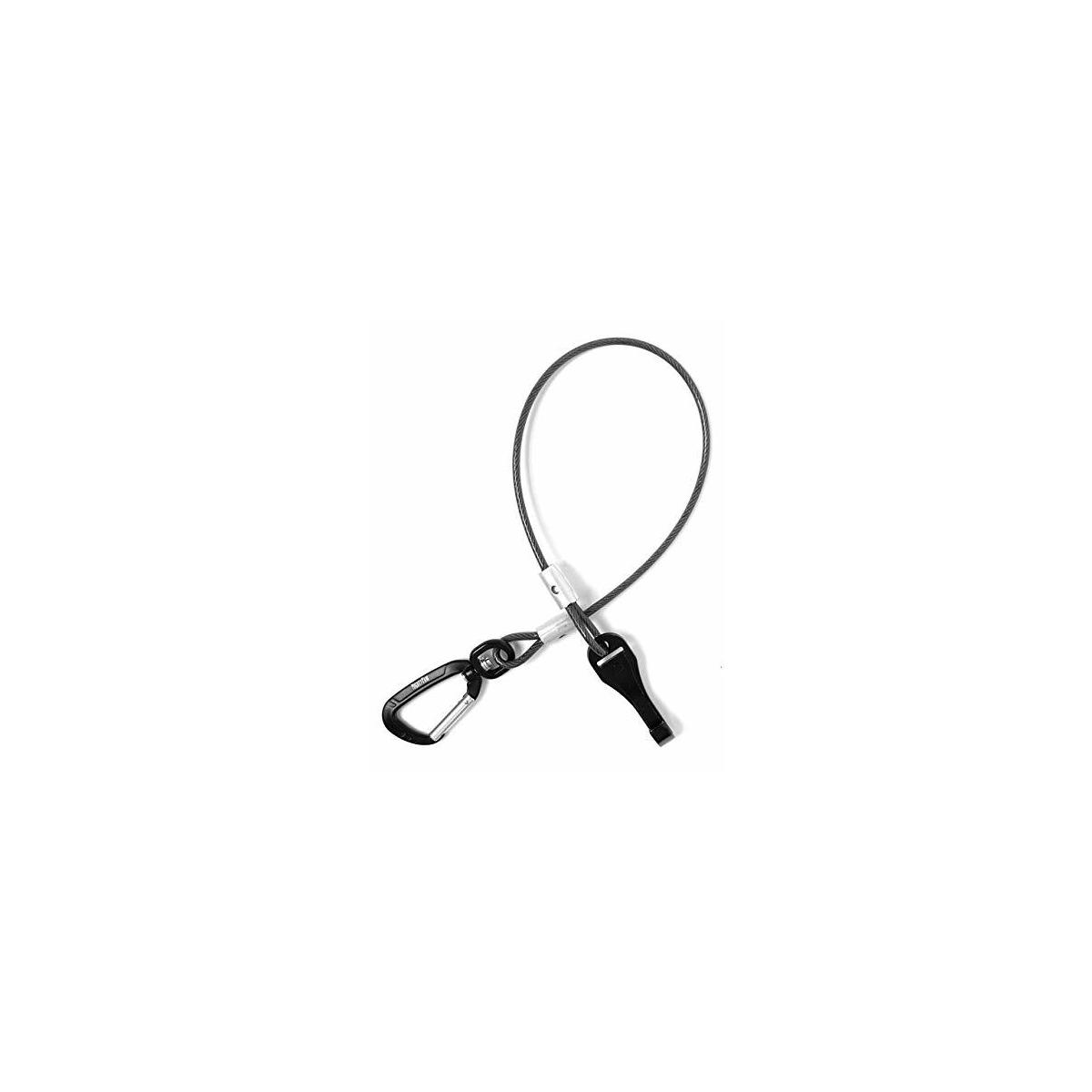 Mighty Paw Chew-Proof Dog Seat Belt - Steel Cable Safety Belt, Steel Braided Cord and Rock Climbers Carabiner