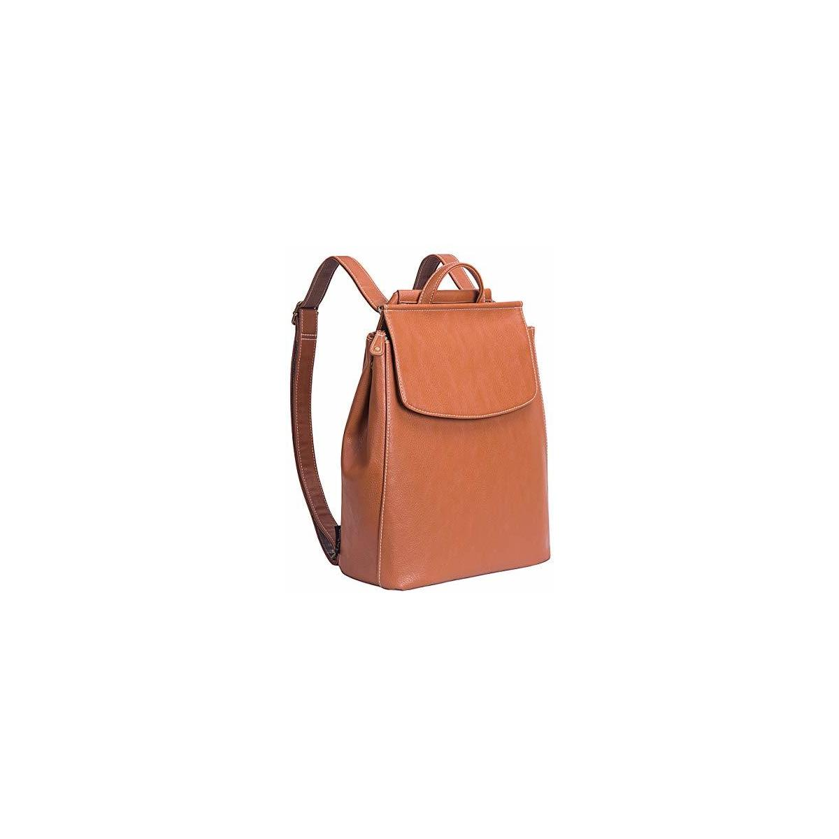 Lily Queen PU Leather Backpack for Women Small Backpack Purse Fashion Casual Travel Bag