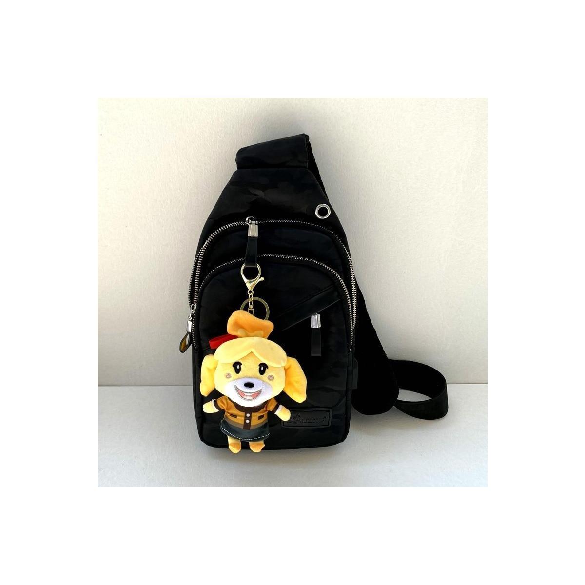 Animal Crossing Plush Villager Keychains, 12cm-K.K