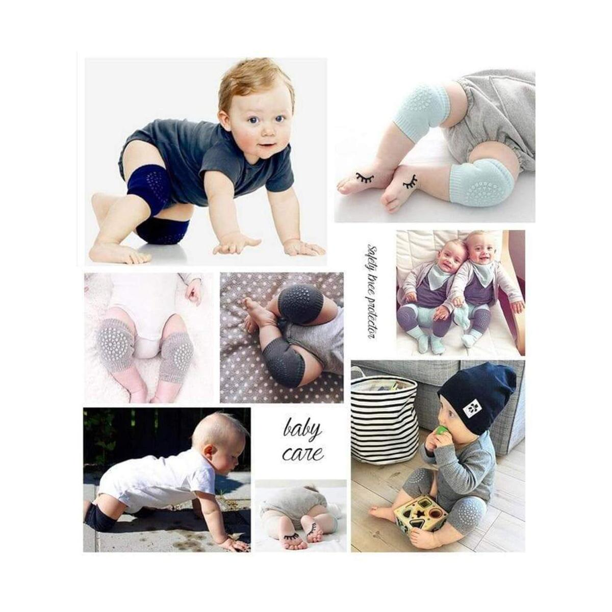 Baby Crawling Support Adjustable Breathable Mesh Safety Anti-Slip Knee Pads Protector Guard