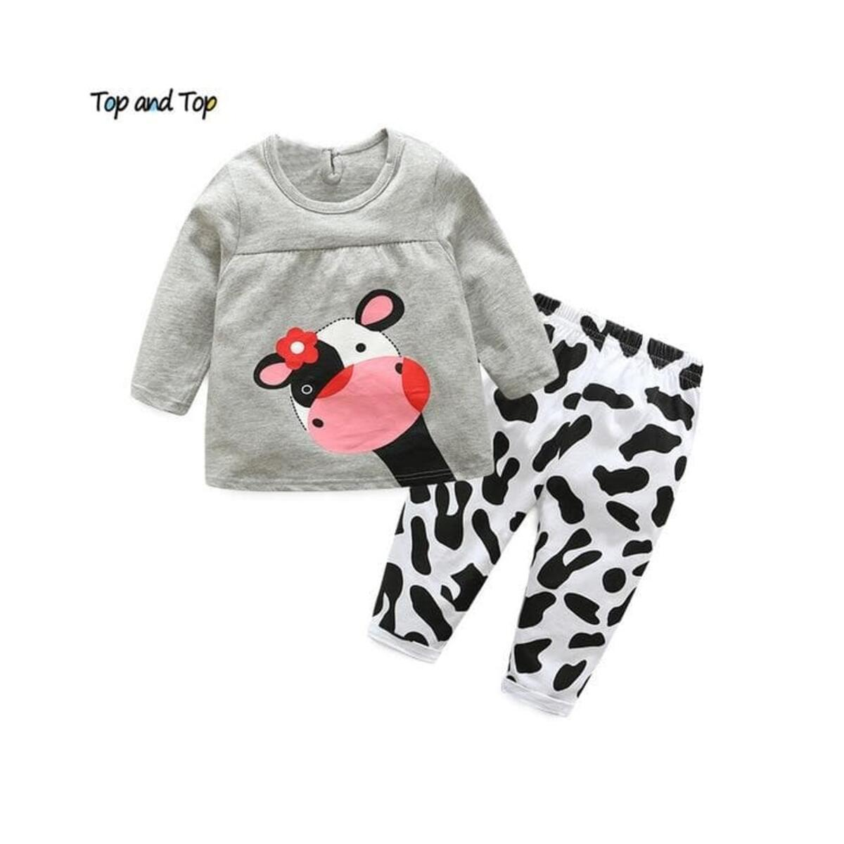 Newborn Kids Baby Girl Clothes Hooded Sweatshirt Tops Floral Pants Outfits Set with Headband