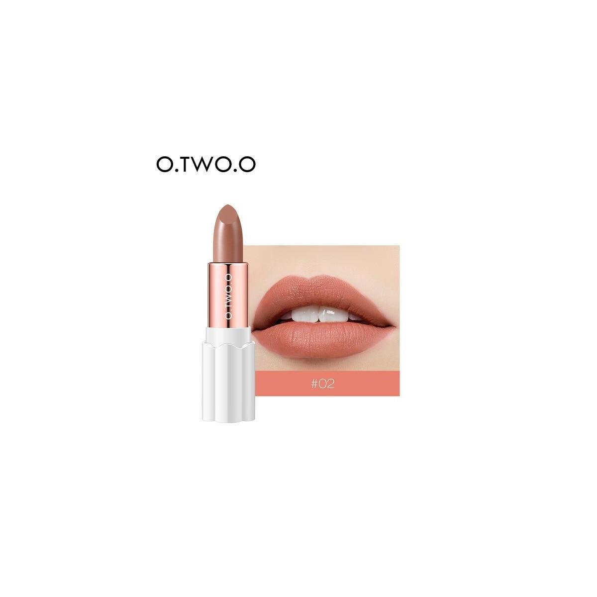 O.TWO.O Semi Velvet Lipstick, 02