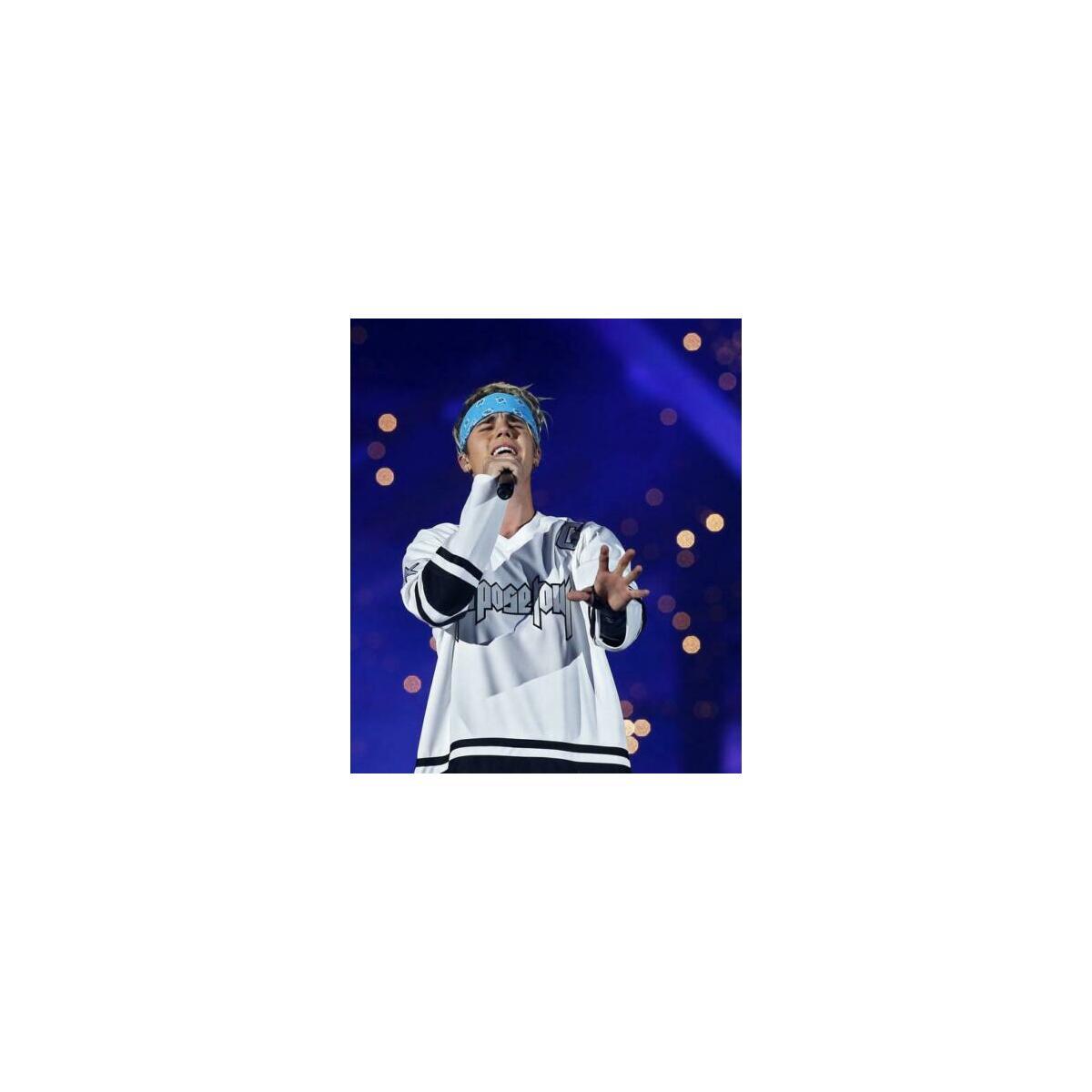 Justin Bieber Purpose Tour Number 6 Jersey
