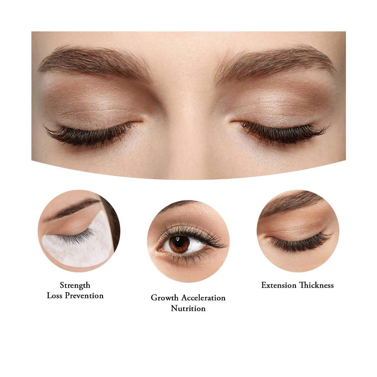 Eyebrow & Eyelash Growth Serum | Advanced Eyelash Conditioner Boost Lash Grow Enhancer | Powerful Brow & Lash Enhancing Formula for Longer, Thicker Eyelashes and Eyebrows-0.17fl.oz/5ml