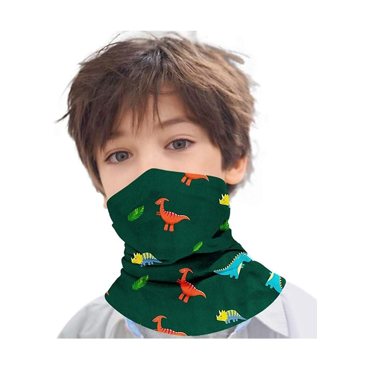 BAIKUER Neck Gaiters Kids Breathable Face Cover Mask Sun Bandanas Boys for Outdoor Sports