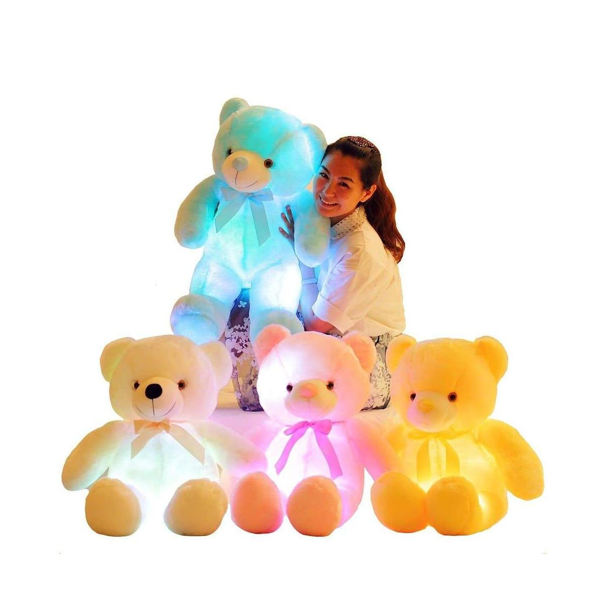 Glow Teddy Light up Bear