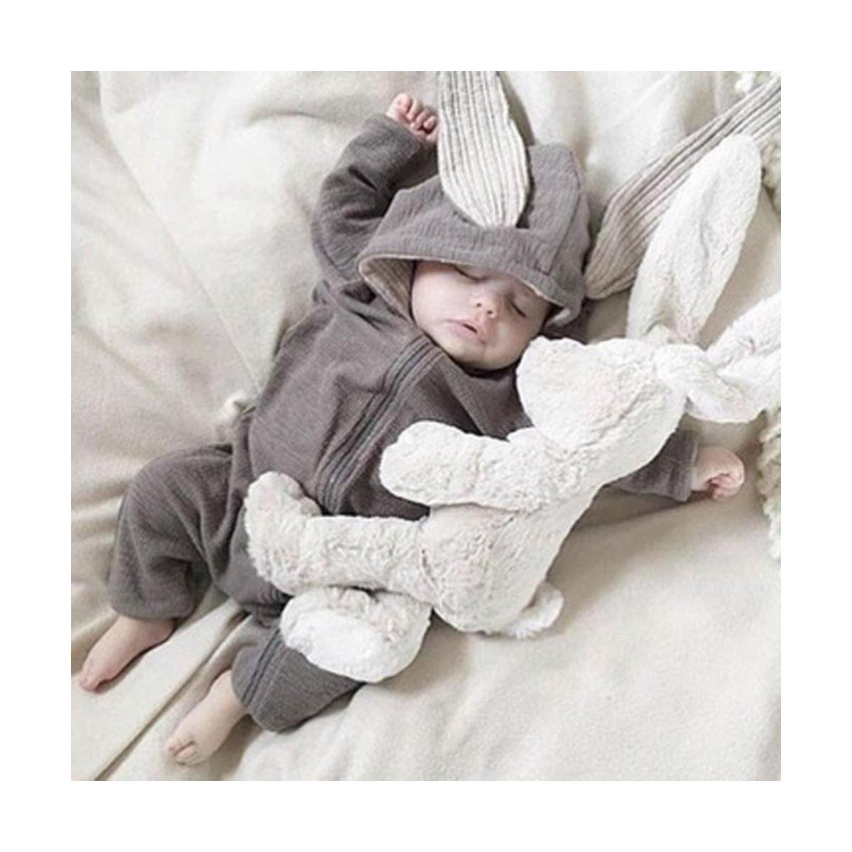 Newborn Baby Clothes Bunny Baby Rompers Cotton Hoodie Newborn Girl Onesies Fashion Infant Costume Boys Outfits Baby Outfit Set