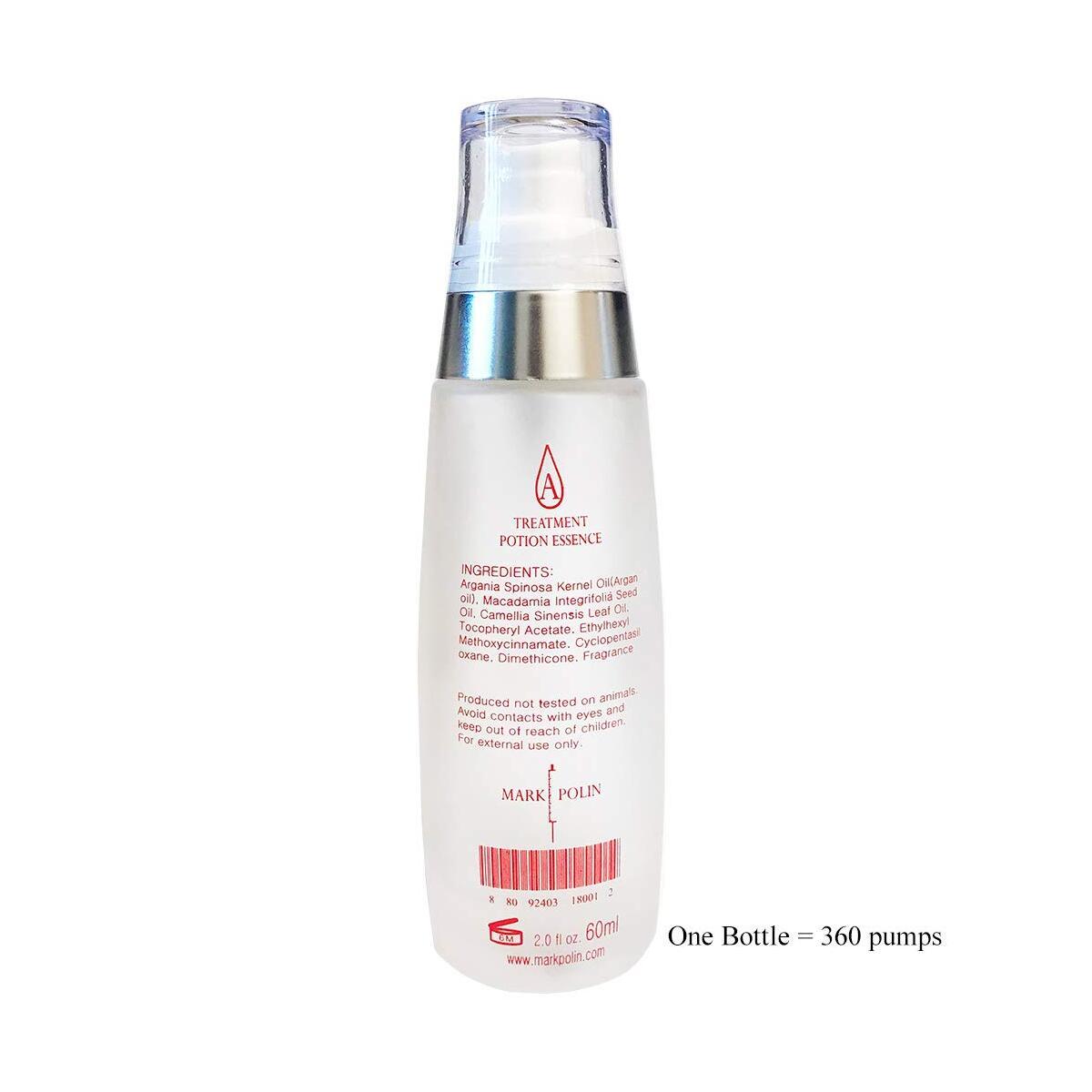 Keratin Hair Treatment Oil - Anti-frizz Gloss, Weightless treatment softens & repairs dry damaged hair, Moroccan Argan Oils Natural plant Protein Treatment for hair