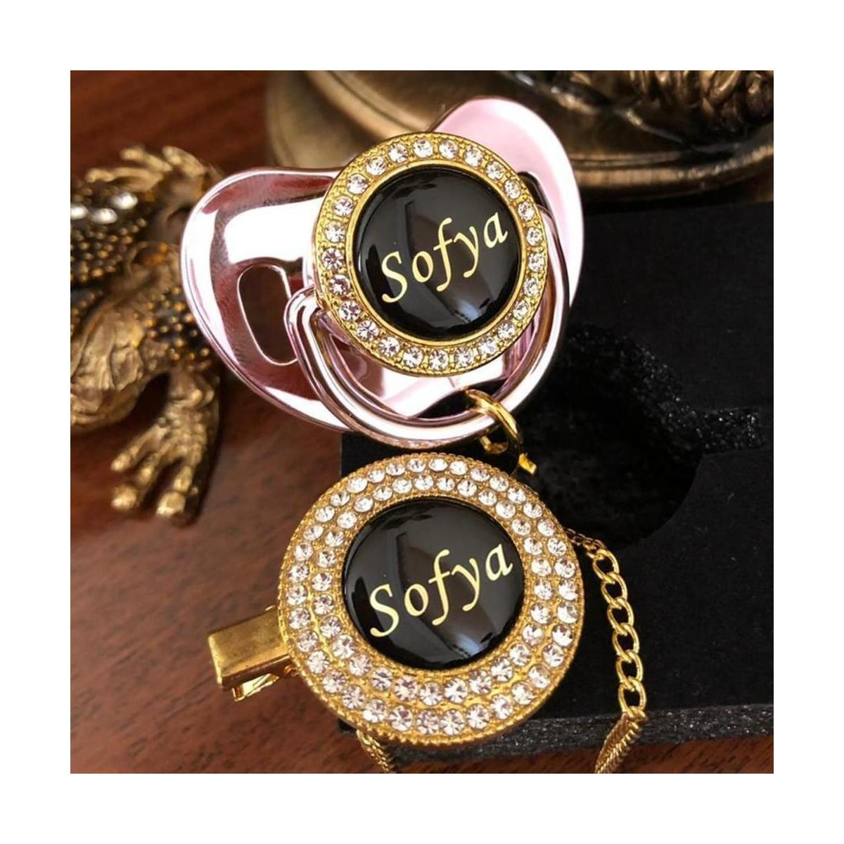 Luxury Personalized  Infant Pacifier