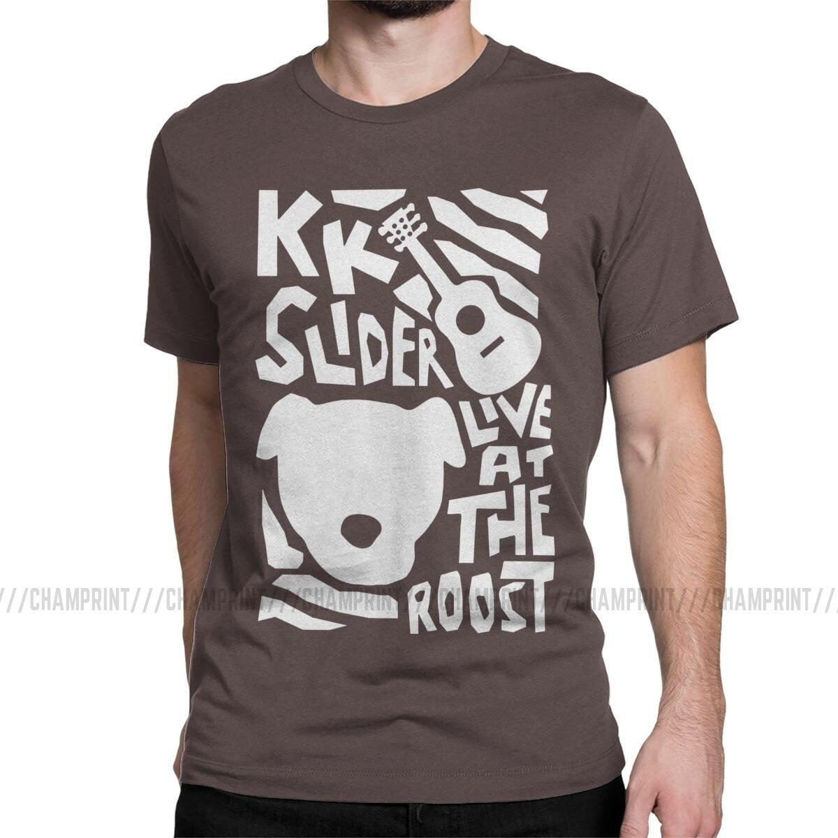 KK Slider Live at The Roost Shirt, Brown / L