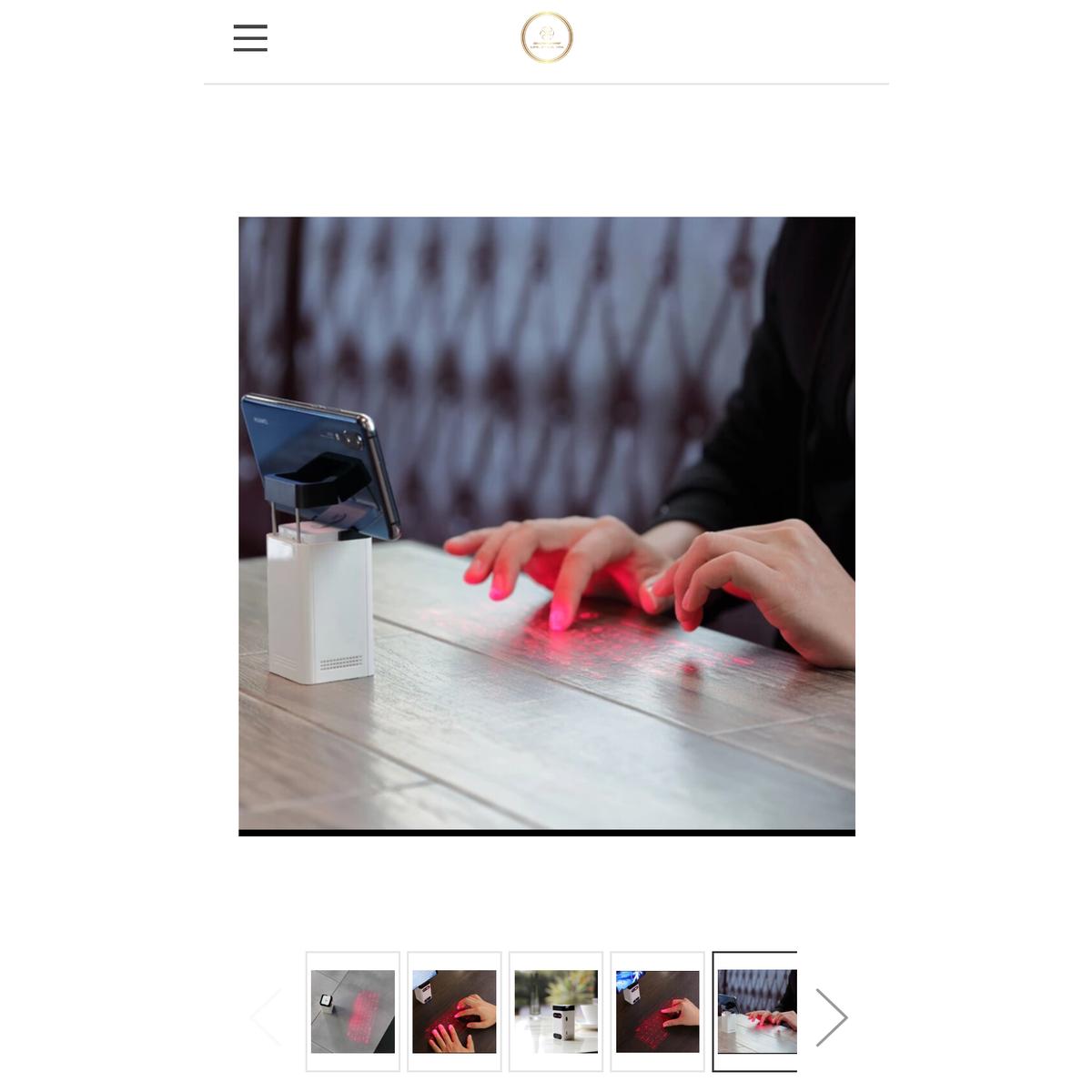 Lazer Projection Keyboard