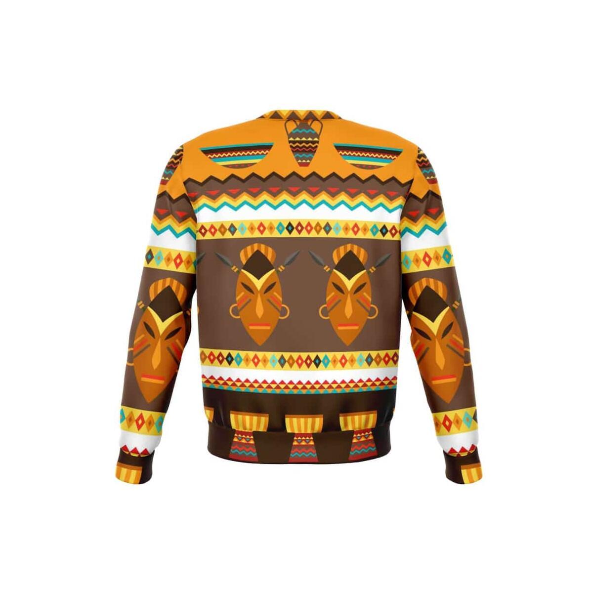 African Djembe Masks Sweatshirt
