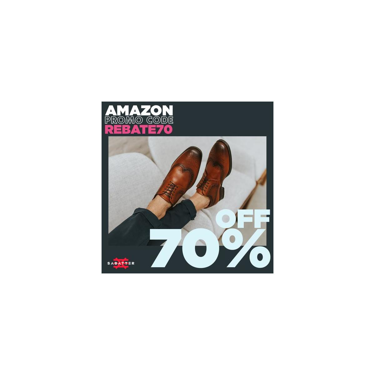 Sabatter Mens Oxford Dress Shoes - Genuine Leather Rounded Toe Derby Style Lace-Up Formal Perforated Wingtip Oxford with Double Flexion System Thermoconformed Memory Foam Insole - Lorenz (ALL VARIATIONS, ALL SIZES)