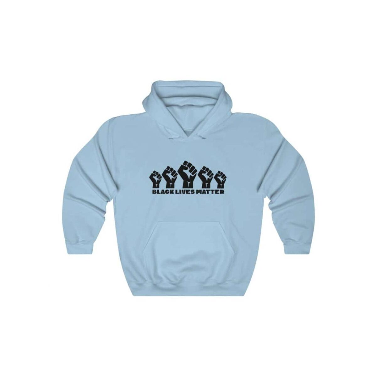 Afrocentric 5 Fists Hooded Sweatshirt
