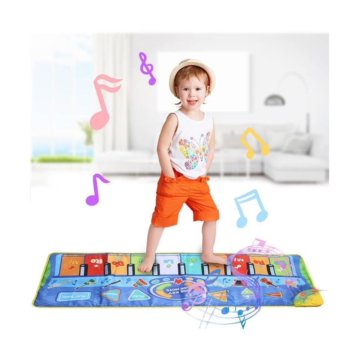 Kids Music Mat Education Children Piano Pad Toy Blanket Mat