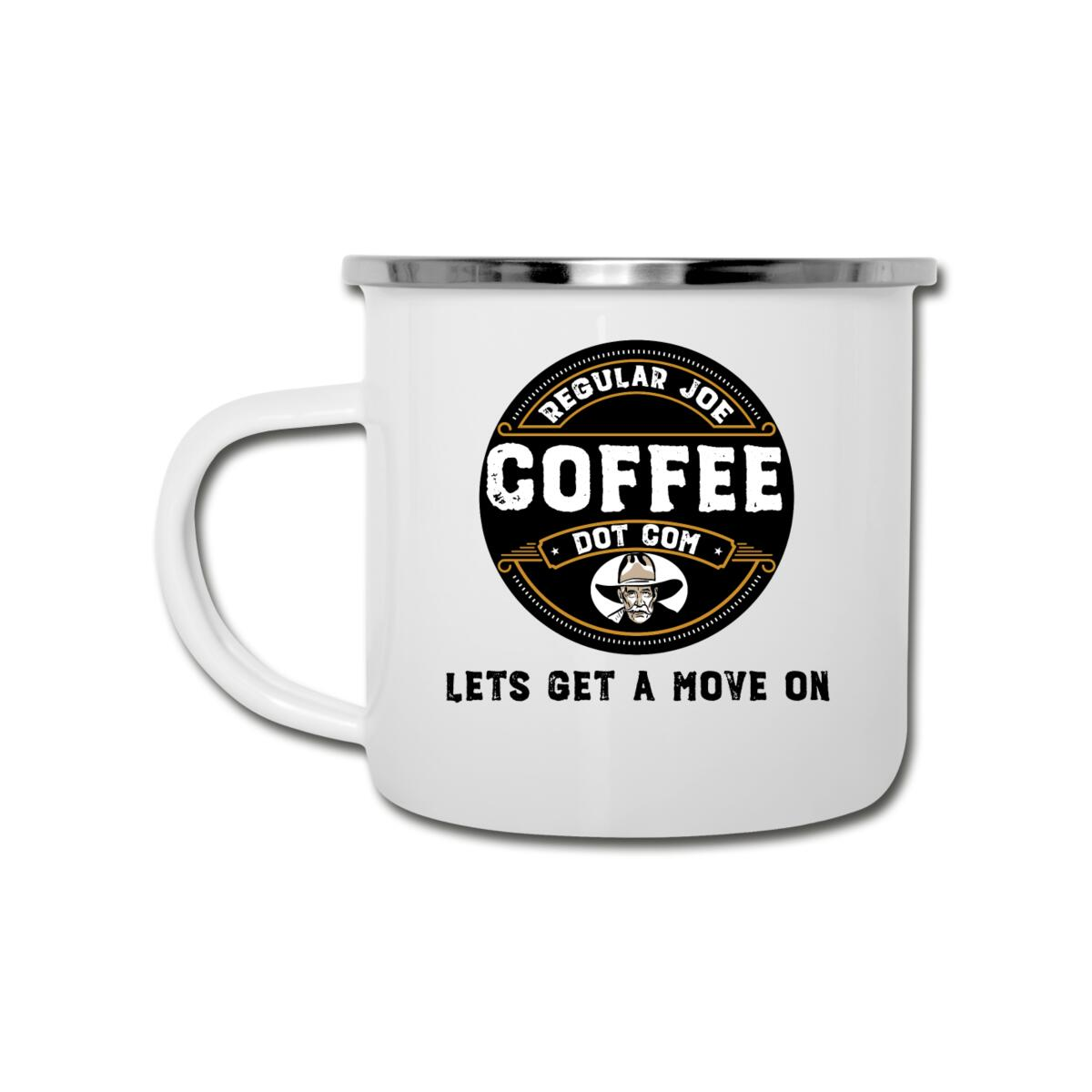 Lets Get a Move On Mug