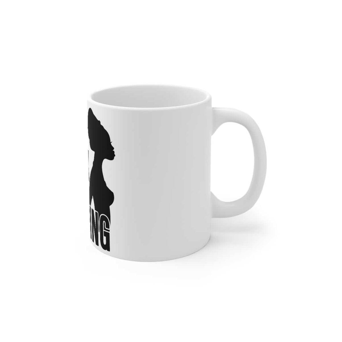 Afrocentric Being Black Is A Blessing Mug 11oz