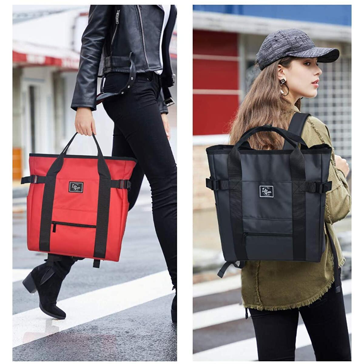 Lily Queen Casual Lightweight Handbag Fashion Tote Backpacks Waterproof Classic Daypack Bag for Women