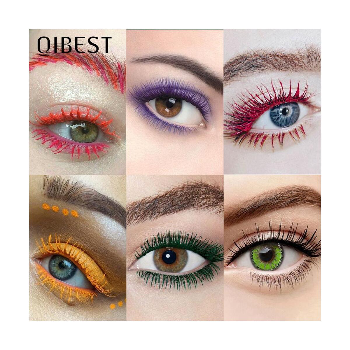 QIBEST Colorful Mascara, 1