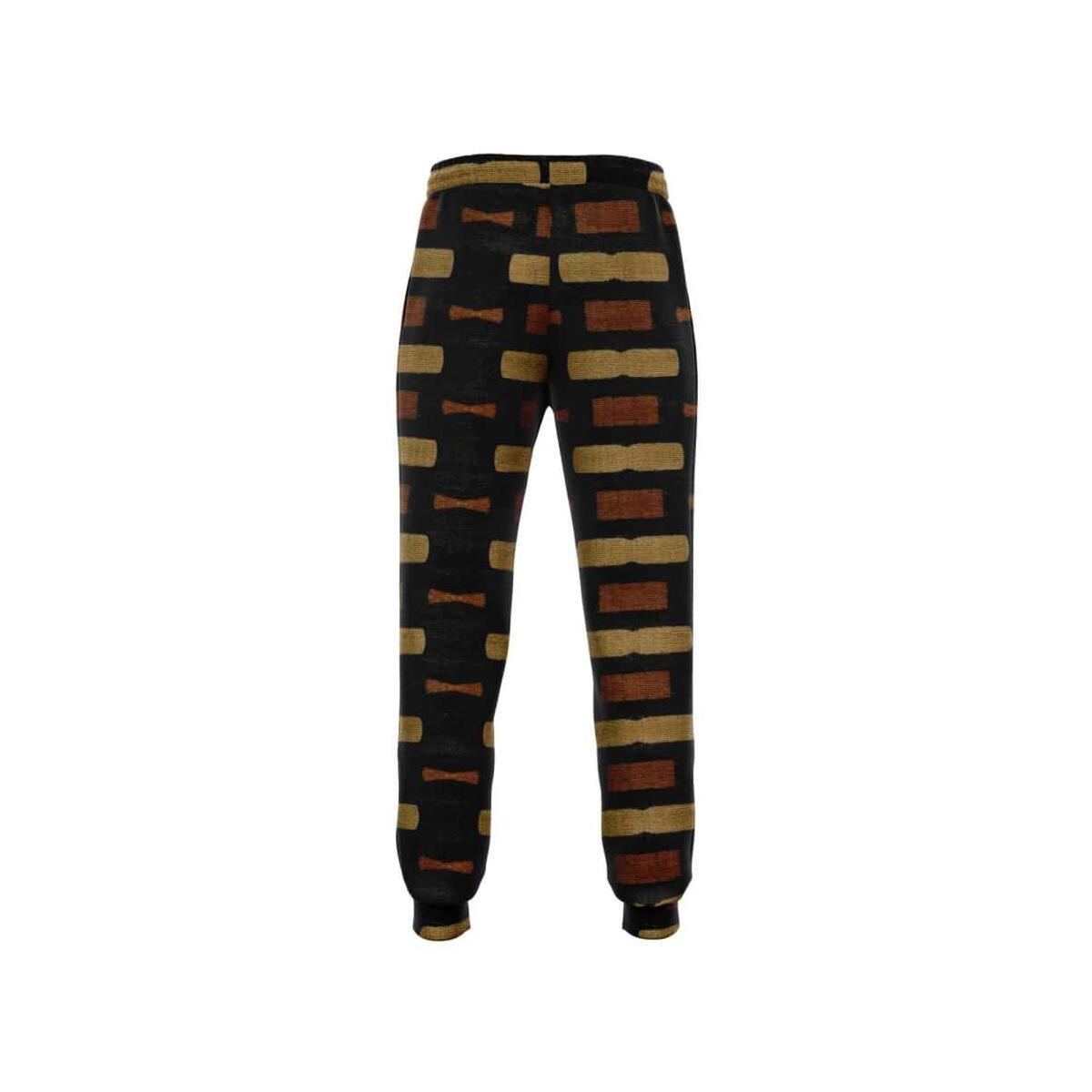 Afrocentric Bogolan Jogger Sweatpants