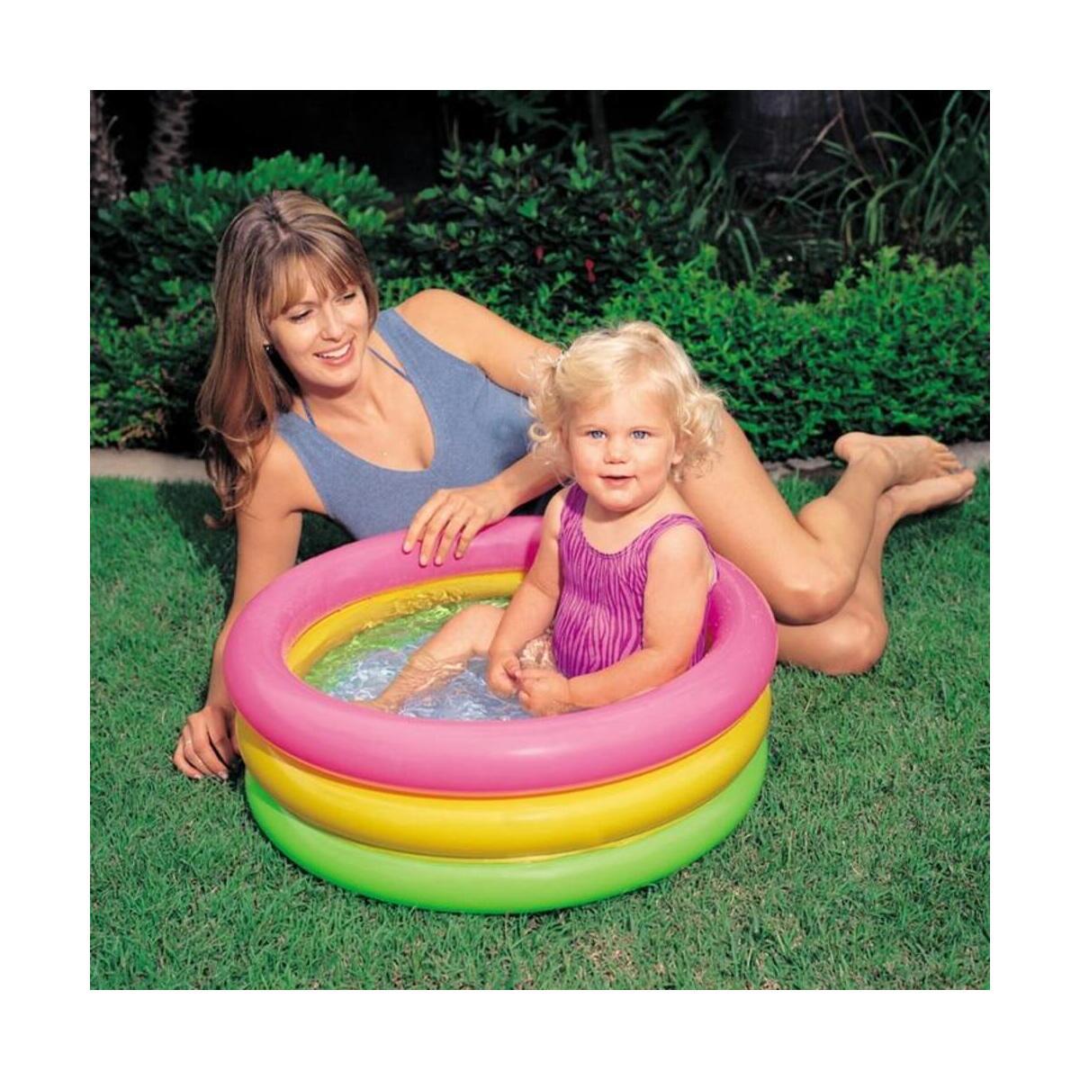 Baby Sunset Glow Inflatable Colorful Swimming Pool