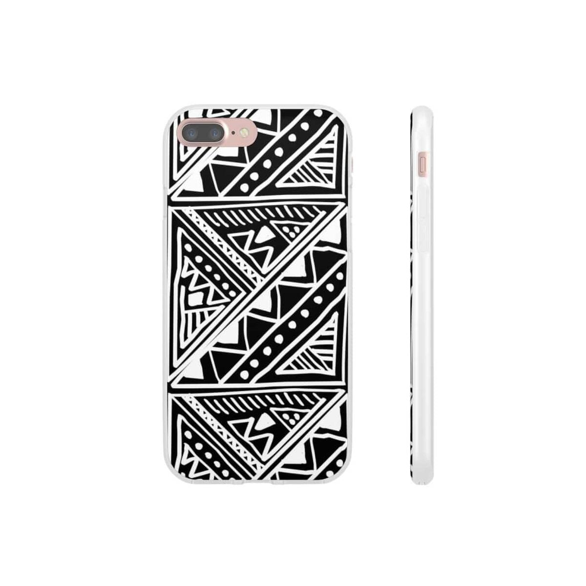 White African Tribal Mud-cloth Flexi Phone cases, iPhone X