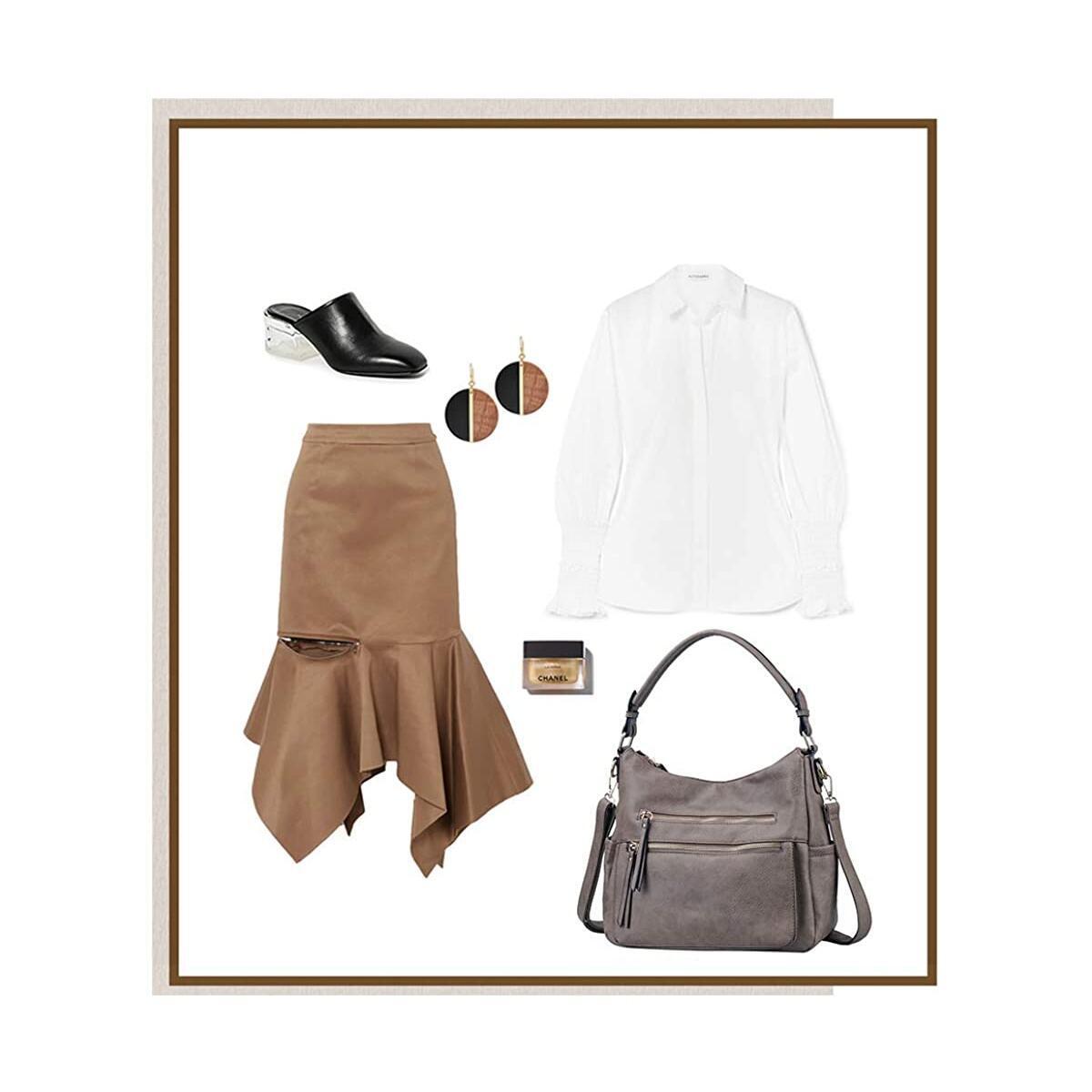 Handbags for Women JOYSON Crossbody Bags PU Leather Hobo Shoulder Bag Multi-pocket Top-Handle Purse