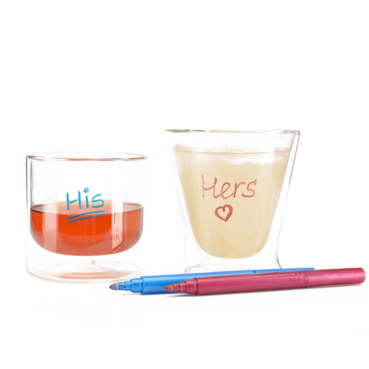 Eparé Wine Glass Markers - Set of 7