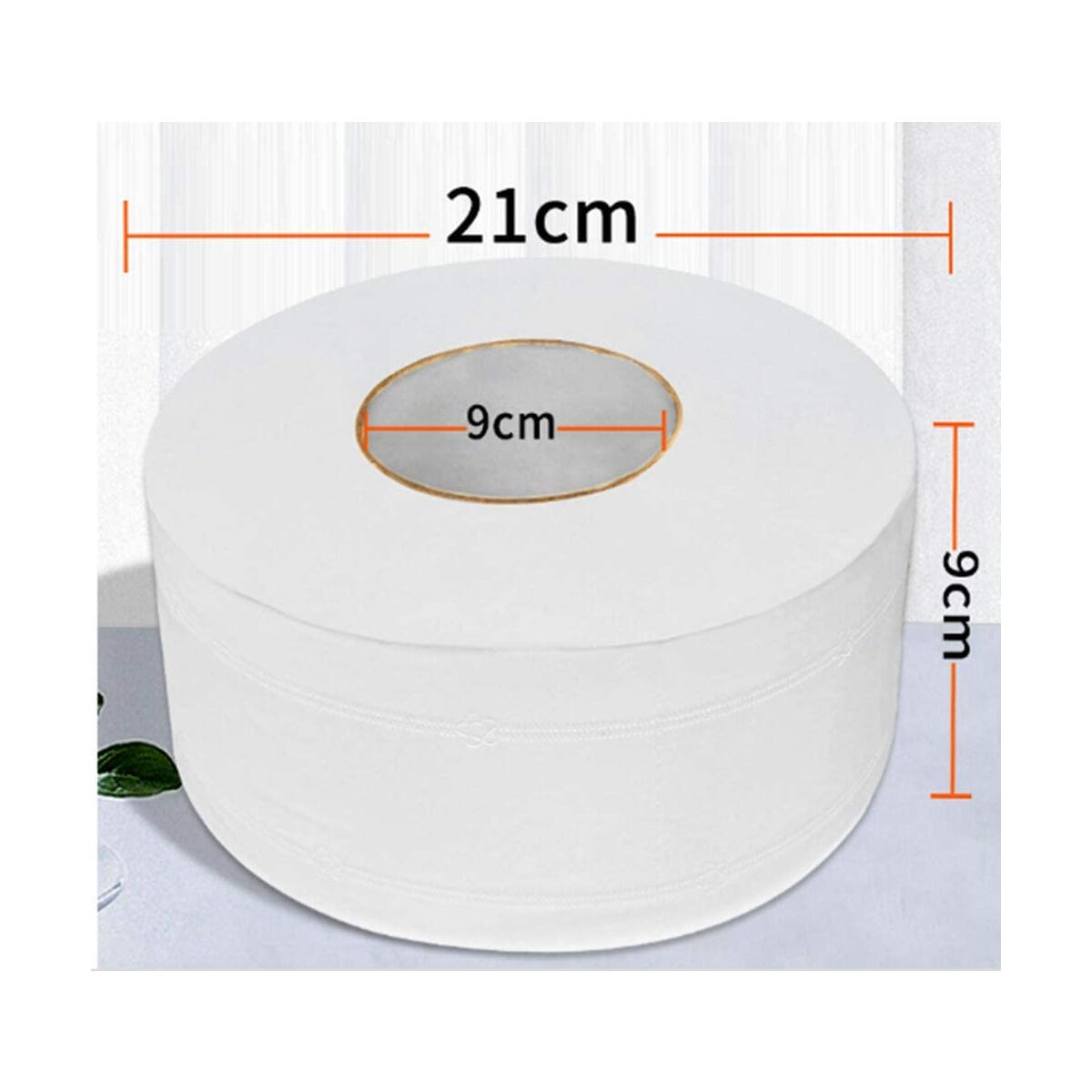 Home Toilet Paper Bath Tissue Roll Paper and Commercial Toilet Paper  4 Layers Thickened Soft and Safe