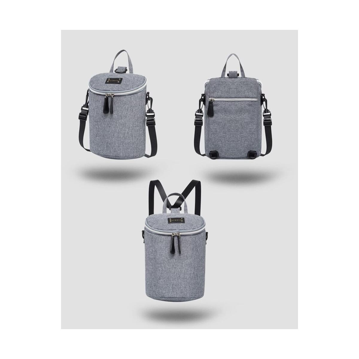 Baby Diaper Bag Infant Feeding Milk Bottle Thermal Backpack Designer Mini Capacity Newborn Nappy Bag