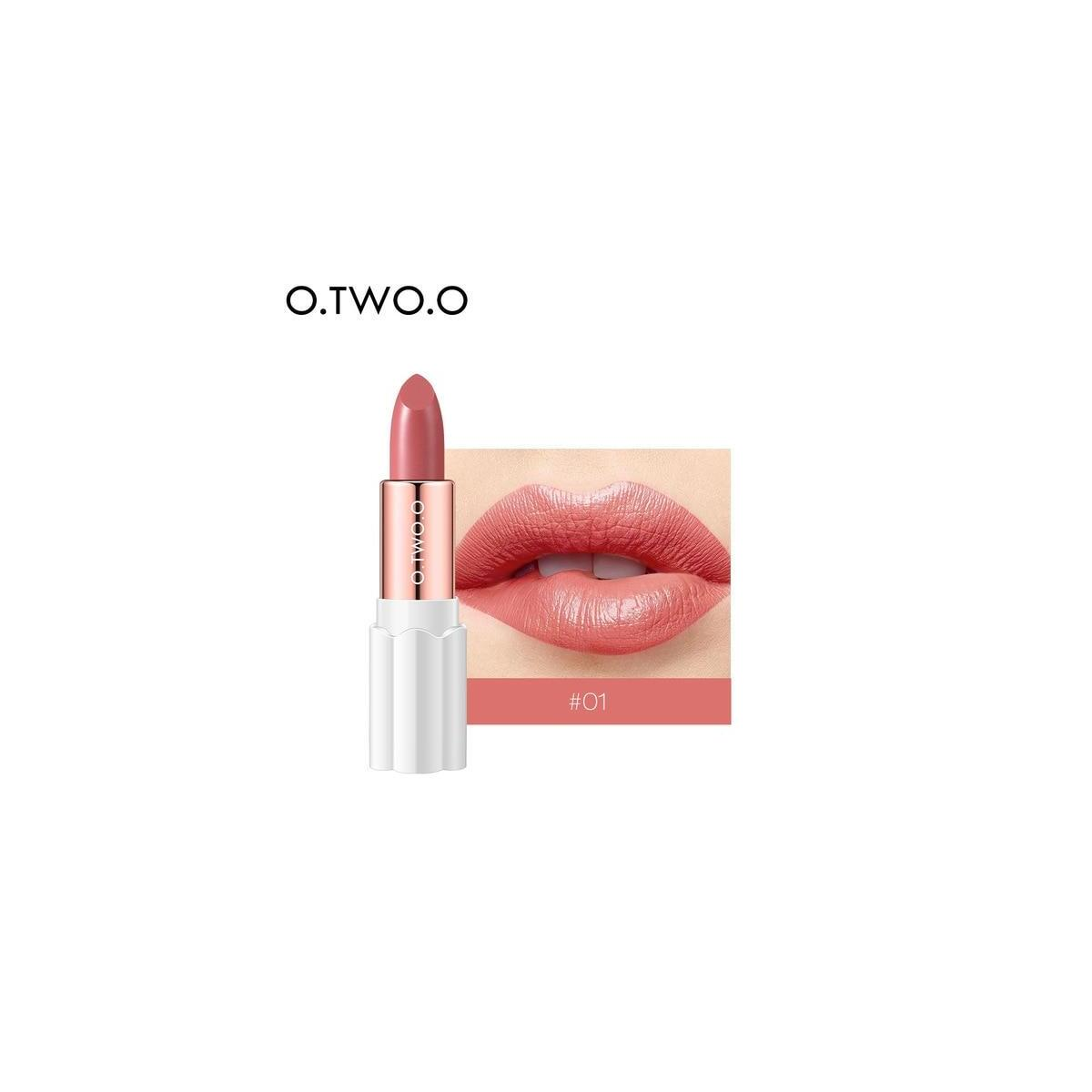 O.TWO.O Semi Velvet Lipstick, 01