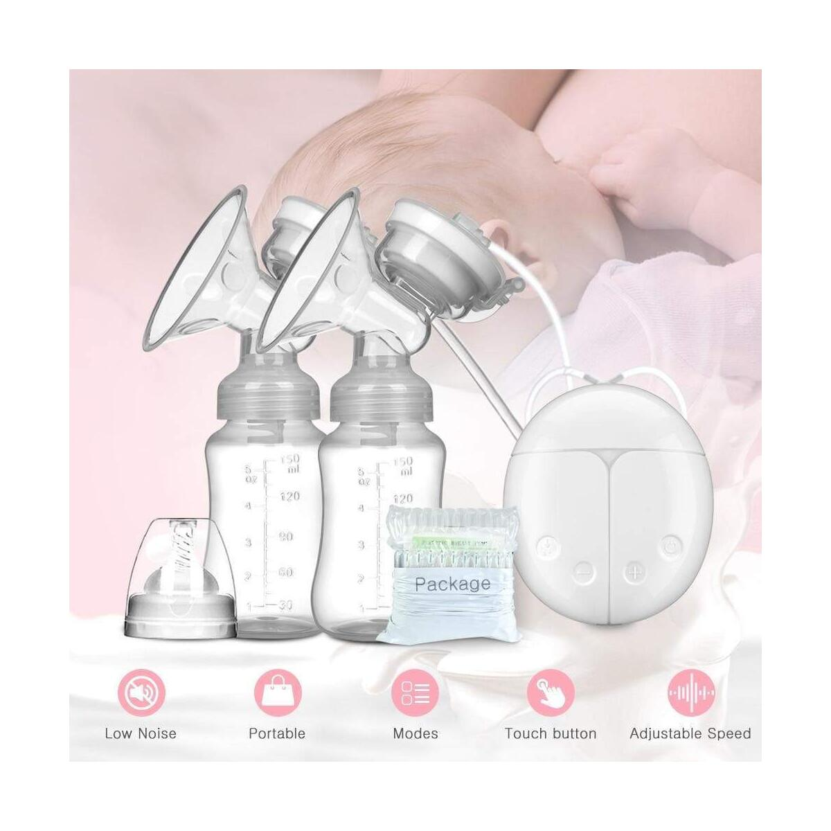Milker automatic milker breast pump breast pump maternal milk extractor suction force big non-manual Integral Rechargeable Milker