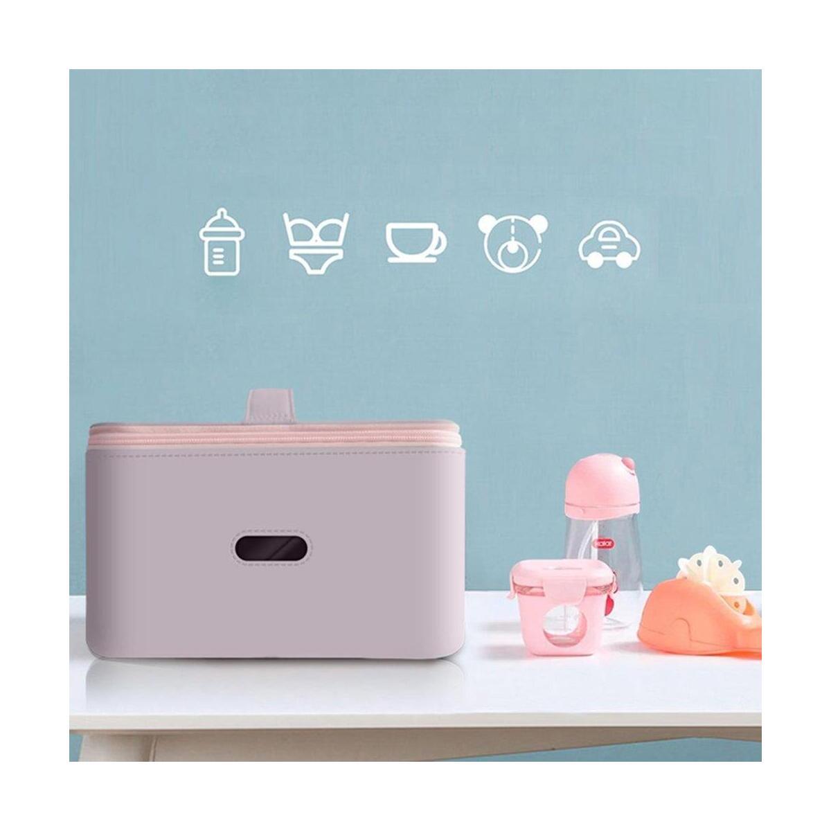 UV Sterilizer Bag UV Disinfection Bags Portable Sterilizer Box UV Baby Bottle Cleaner Waterproof UV Travel Sterilization Bag