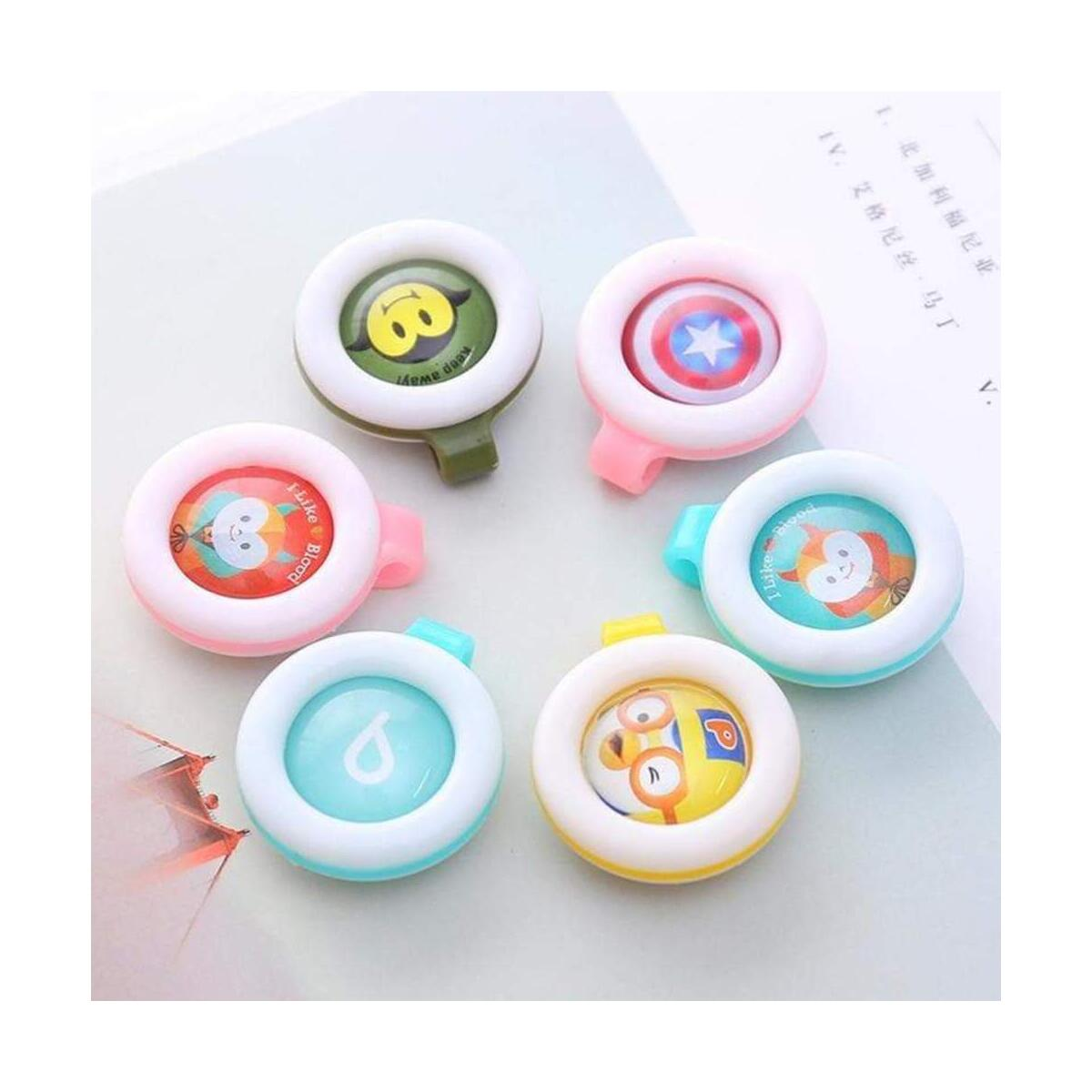 Baby Anti Mosquito Bug Buckle Clip Insect Repellent Badge Outdoor Button