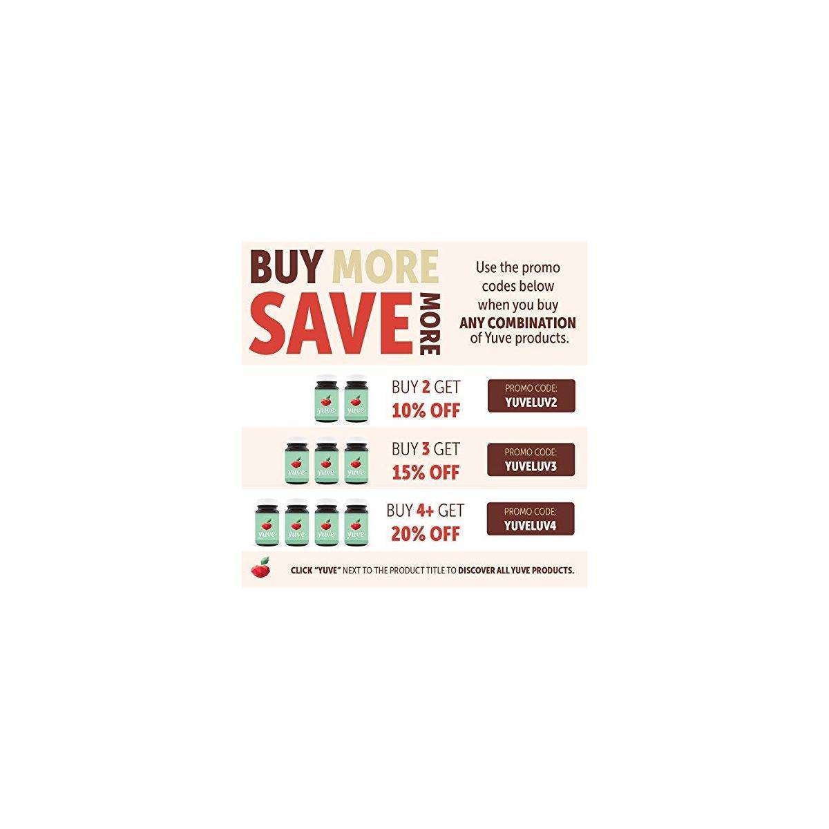 Yuve Mediterranean Olive Leaf Extract 750mg - 20% Non-GMO Oleuropein - Cardiovascular Health & Immune Support - Helps Rejuvanate Skin - Powerful Antioxidant - Vegan, Natural, Gluten-Free - 60 Capsules