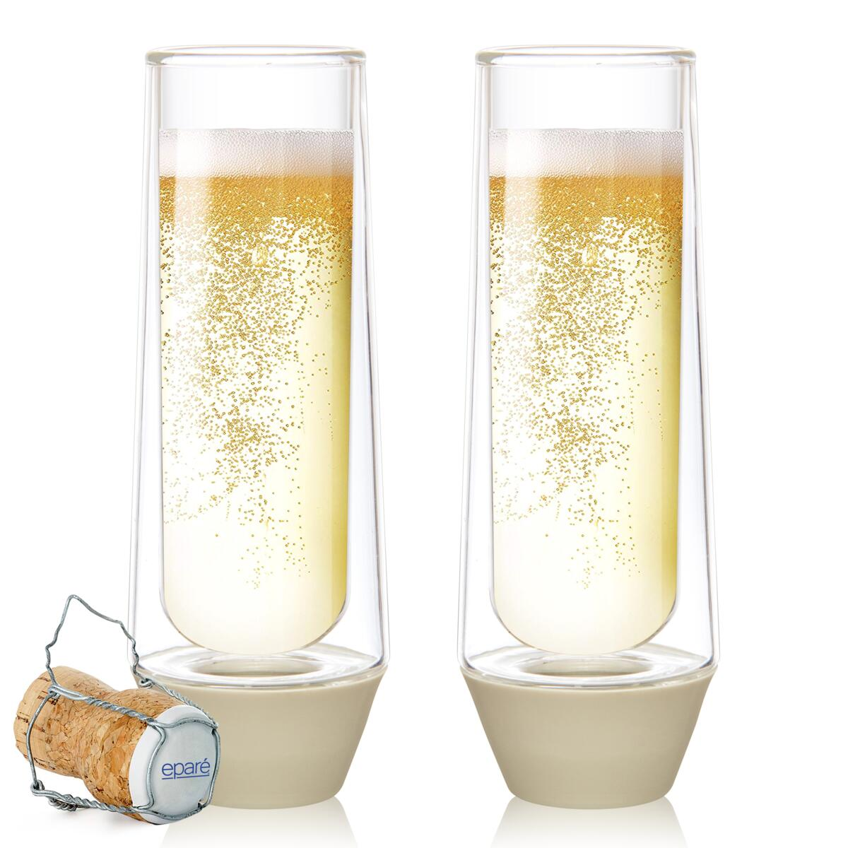 Eparé Champagne Glass Set (Everyday Collection)