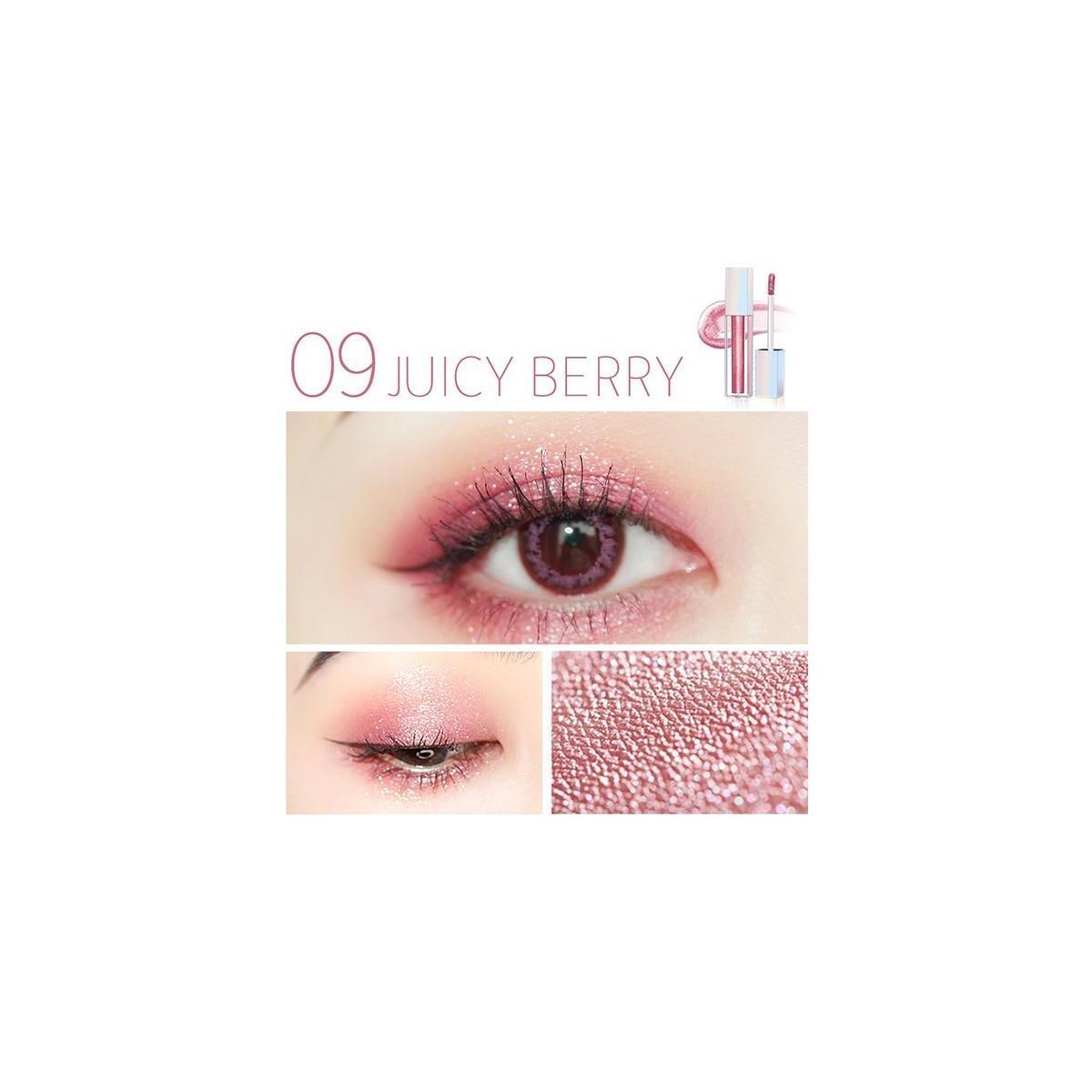 ZEESEA New Liquid Shimmer EyeShadow, 09 Juicy Berry