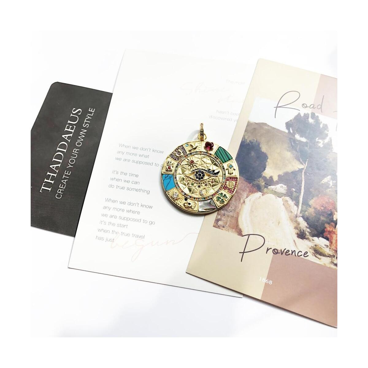925 Sterling Silver Vintage Pendant Amulet