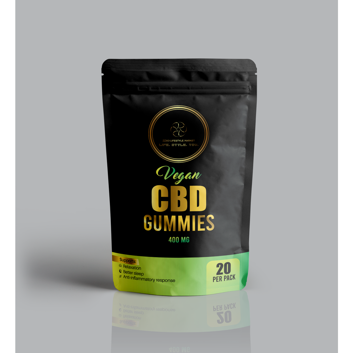 Vegan Hemp Gummies - 400mg