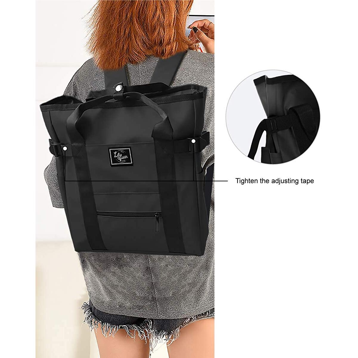 Lily Queen Casual Lightweight Handbag Fashion Backpacks Waterproof Classic Daypack Bag for girls